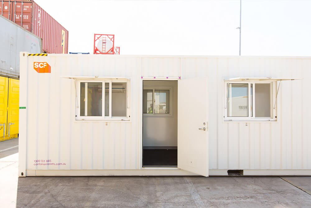 New techniques of building office trailers